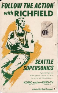 Supersonics Media Guide