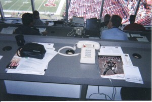 Tampa Bay Press Box