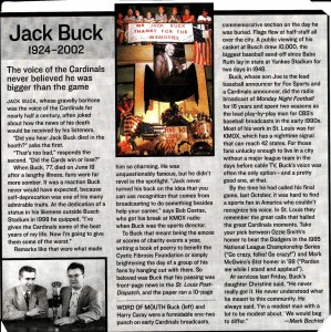 Jack Buck-A St. Louis Icon.
