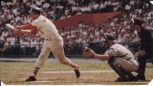 The famous swing of Stan the Man…circa 1963