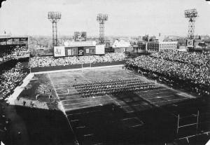 Football at Busch Stadium…circa 1962